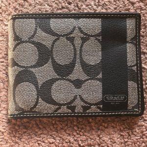 Coach Men's wallet